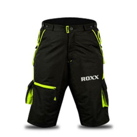 ROXX MTB Shorts | CZARNO-FLUOR