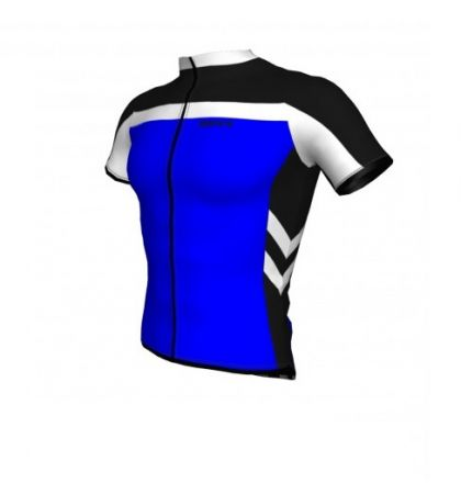 ROXX Cycling Shirt Bike Riding Jersey | NIEBIESKA