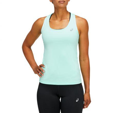 Asics Basic Tank   Fresh Ice - Damska koszulka na ramiączkach do biegania 2012B557-301