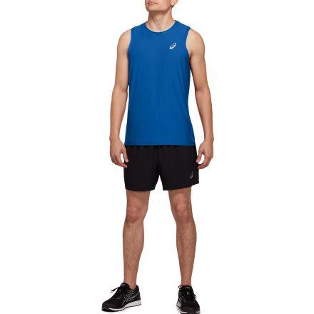 Asics Sport Singlet   Tuna Blue - męski bezrękawnik do biegania 164639-401