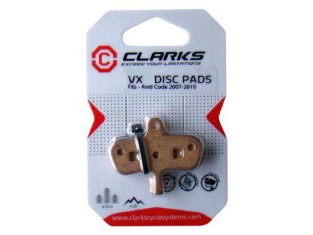 Clarks VX Disc Pads VX834C
