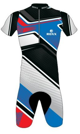 Roxx Race Gel Cycling Skinsuit | BLUE