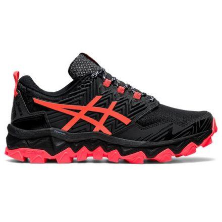 Asics Gel FujiTrabuco 8 | BLACK/SUNRISE RED - damskie buty do biegania