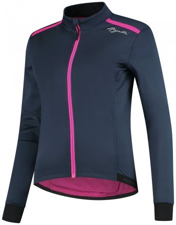 Rogelli Lds Cycling Winterjacket Pesara | BLUE/PINK