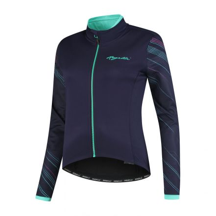 Rogelli Lds Cycling Winterjacket Luna | Purple/Blue