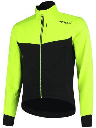 Rogelli Winterjacket Contento 2.0 | BLACK\FLUOR