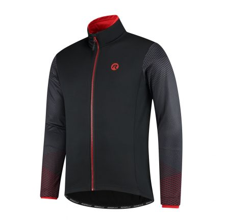 Rogelli Wire Winterjacket | BLACK/RED