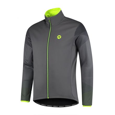 Rogelli Wire Winterjacket | GREY/FLUOR