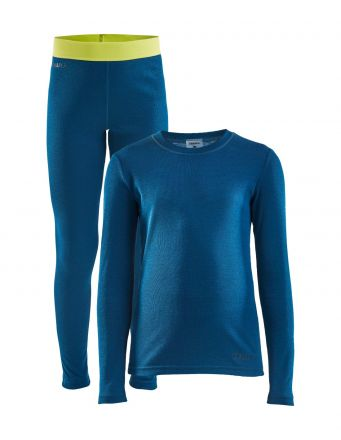 Craft Warm Baselayer Set JUNIOR | BEAT/SCREAM