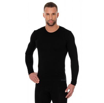 Brubeck T-Shirt LS | Czarny