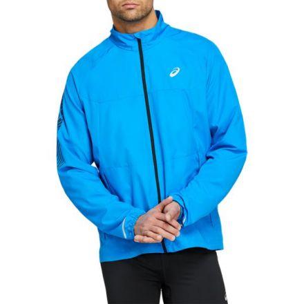 Asics Icon Jacket | NIEBIESKA - lekka męska kurtka do biegania