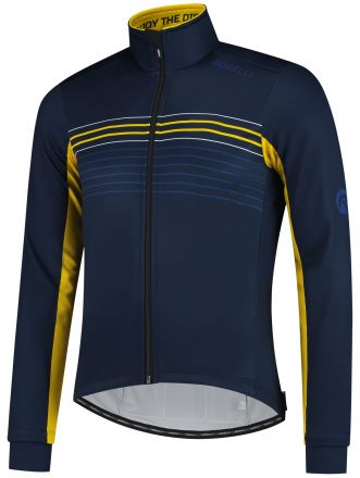 Rogelli Kalon Cycling Winterjacket | BLUE/YELLOW