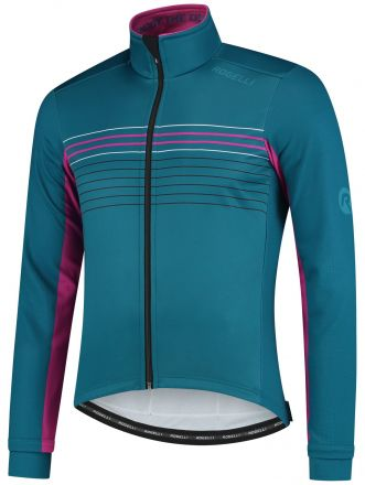 Rogelli Kalon Cycling Winterjacket | BLUE/MAGNETA