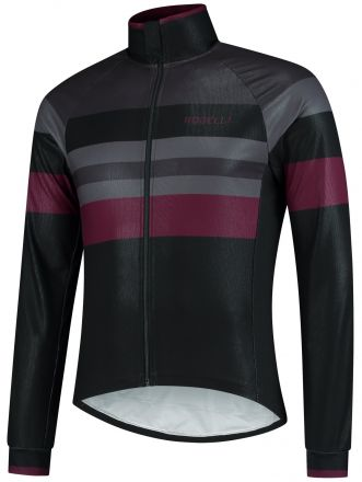 Rogelli Peak Winterjacket | BLACK/BORDEAUX