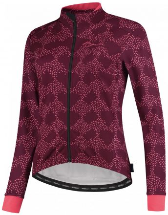 Rogelli Blossom Winterjacket | Cerise/Coral