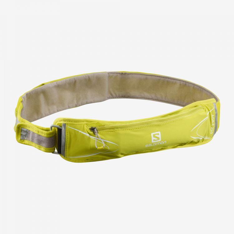 Salomon Agile 250 Belt Set | Sulphur Spring - pas z miękkim bidonem 250ml C14192