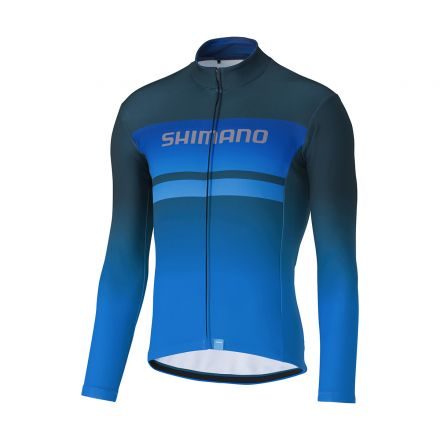 Shimano Team Long Sleeve Jersey | BLUE