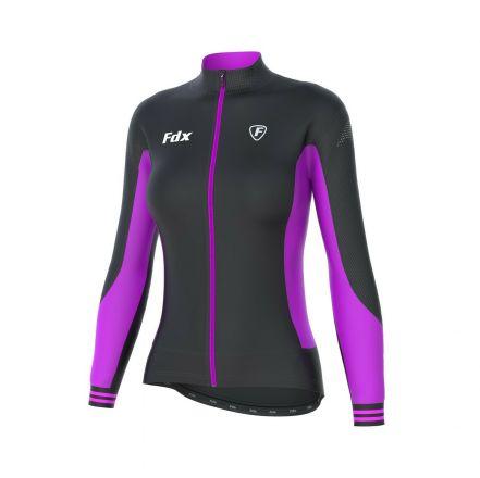 FDX Women's Thermal Jersey | BLACK/PURPLE