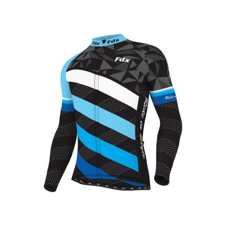 FDX Limited Edition Thermal Winter Jersey | BLUE