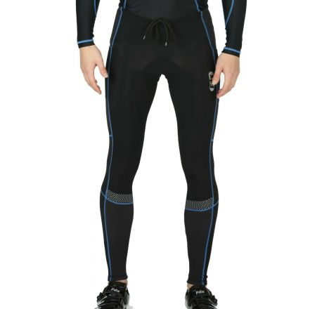 FDX All Day Winter Thermal Tights | BLACK/BLUE