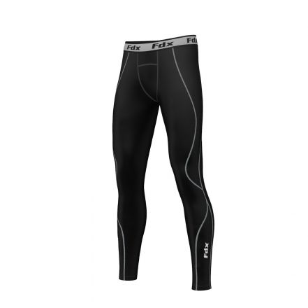 FDX Compression Trouser Base Layer | BLACK/GREY