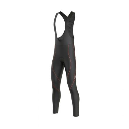 FDX Winter Thermal Reflector Bib Tights | BLACK/RED