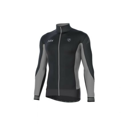 FDX Thermal Winter Jersey | BLACK/GREY