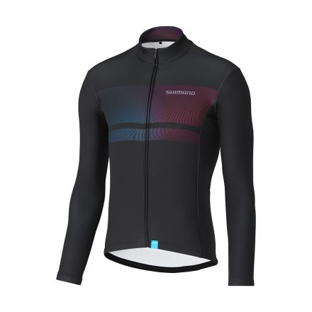 Shimano Team Long Sleeve Jersey | BLACK