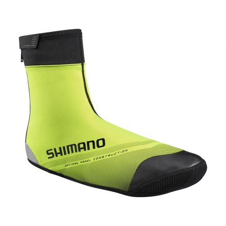 Shimano S1100X Soft Shell Shoe Cover | YELLOW