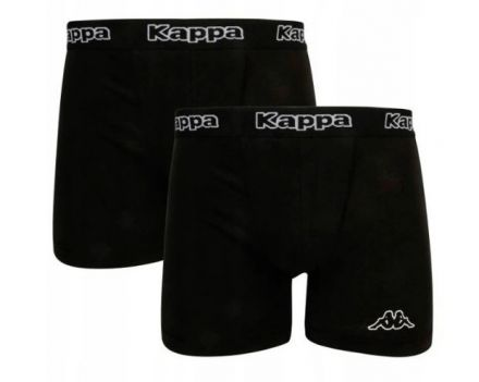 Kappa Boxers 2-pack | BLACK