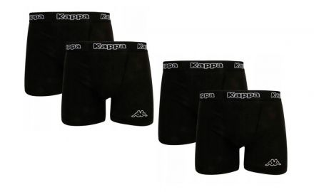 Kappa Boxers 4-pack | BLACK