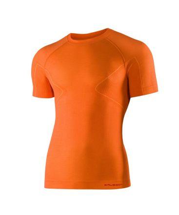 Brubeck Active Wool Men's T-Shirt | POMARAŃCZOWY