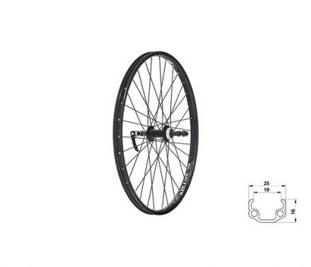 "Kellys Wasper Freewheel V-brake R 24"" | BLACK"