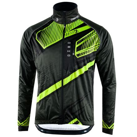 Deko Winter Cycling  Jacket MNK09 | CZARNO ŻÓŁTA