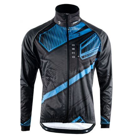 Deko Winter Cycling  Jacket MNK09 | CZARNO NIEBIESKA