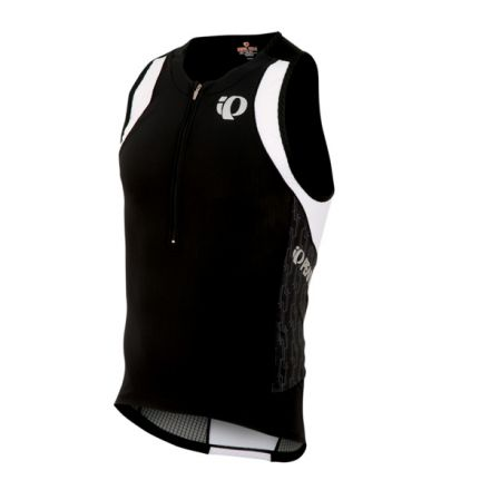Pearl Izumi Elite IN-R-Cool  Tri Singlet | BLACK TURNOUT
