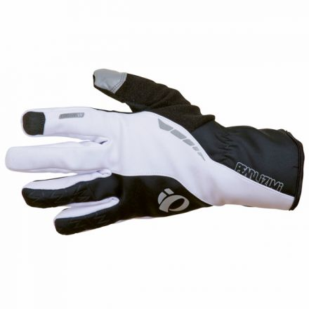 Pearl Izumi Elite SoftShell Glove | WHITE/BLACK