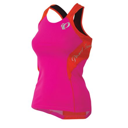 Pearl Izumi W Elite In-R-Cool Tri Singlet| Hot Pink