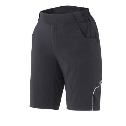 Shimano W's Touring Shorts | BLACK