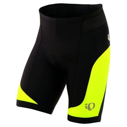 Pearl Izumi Elite In-R-Cool Short | Black/Screaming Yellow