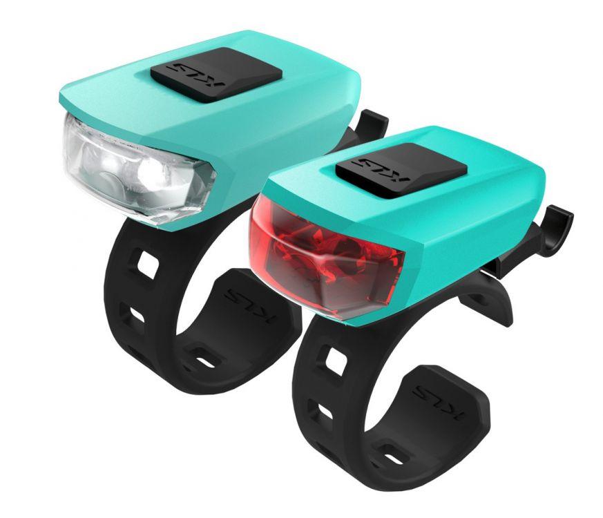 Kellys VEGA - zestaw oświetlenia rowerowego