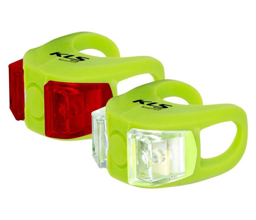 Kellys Twins - zestaw oświetlenia rowerowego