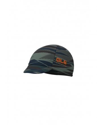 Alé ROCK CAP | BLACK/ORANGE