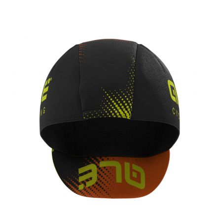 ALE TEAM CAP | BLACK/FLUO