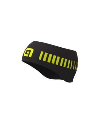 Ale Strada HEADBAND | BLACK/YELLOW