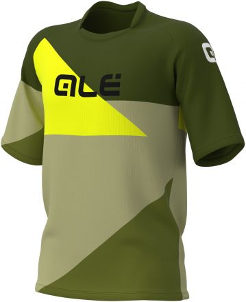 Alé Cycling Off-Road MTB Shape SS Jersey Men | Green