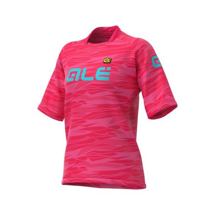 Alé Cycling  Rock Off-Road | STRAWBERRY/TURQOISE