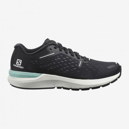 Salomon SONIC 4 BALANCE W | BLACK/WHITE/BLACK - Damskie buty do biegania po asfalcie.