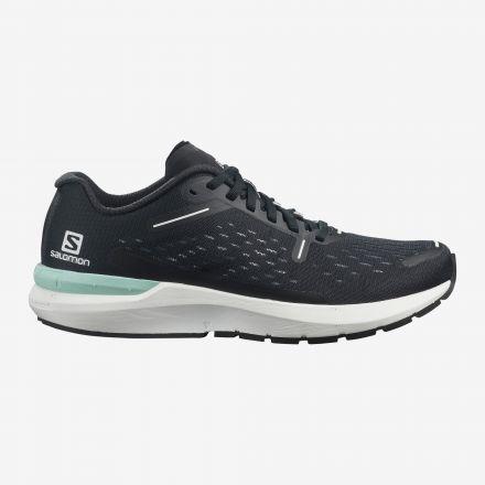 Salomon SONIC 4 BALANCE   BLACK/WHITE/BLACK - Męskie buty do biegania po asfalcie.