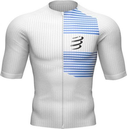Compressport Tri Postural  SS Top | WHITE